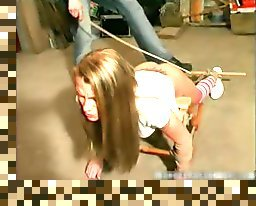 hard whipping and spanking